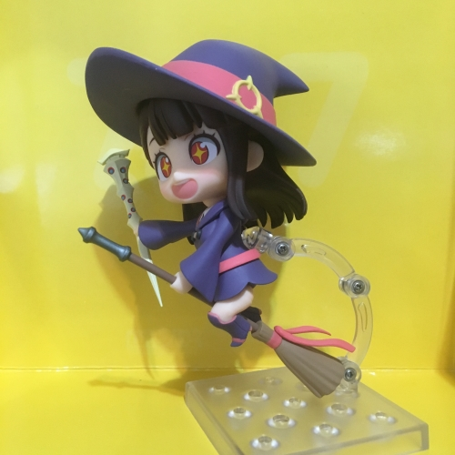 Akko Kagari Nendoroid assembled (from the anime series Little Witch Academia)