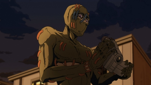 Secco from the anime series JoJo's Bizarre Adventure Part 5: Golden Wind