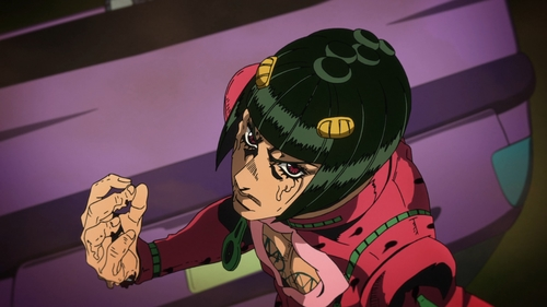 Bruno Buccellati from the anime series JoJo's Bizarre Adventure Part 5: Golden Wind