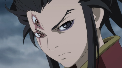 "Tahoumaru ""possessed"" by the Twelfth Demon from the anime series Dororo"