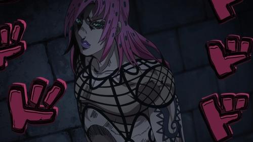 The boss, Diavolo from the anime series JoJo's Bizarre Adventure Part 5: Golden Wind