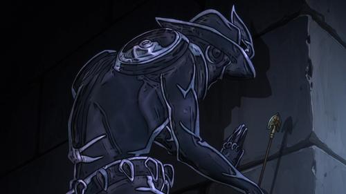Silver Chariot Requiem from the anime series JoJo's Bizarre Adventure Part 5: Golden Wind