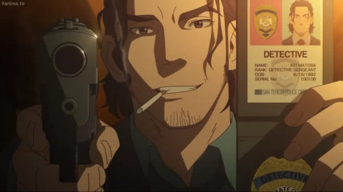 Kei Matoba from the anime series Cop Craft
