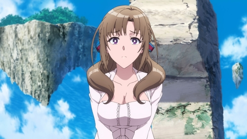 Mamako Oosuki from the anime series Do You Love Your Mom and Her Two-Hit Multi-Target Attacks?