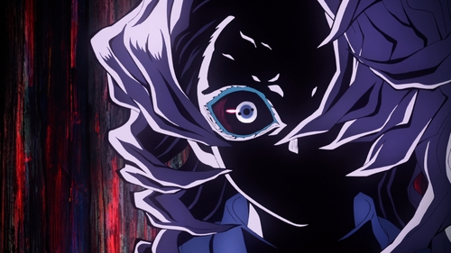 The Spider Silk Demon from the anime Demon Slayer: Kimetsu no Yaiba