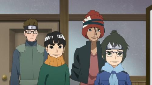 Team 5 from the anime series Boruto Naruto Next Generations