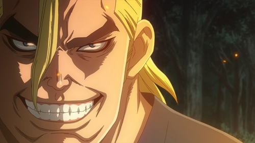 Magma of the Stone Village from the anime series Dr. Stone
