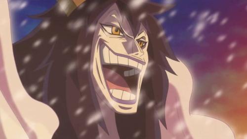 Caesar Clown from the anime series One Piece (Punk Hazard)