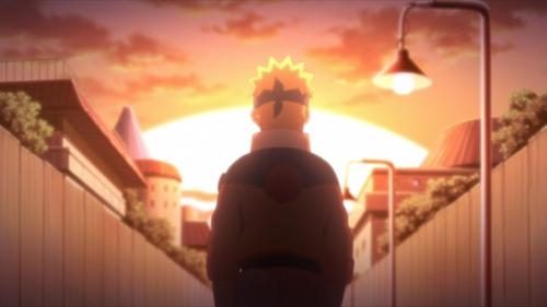 Naruto Uzumaki from the anime series Boruto: Naruto Next Generations