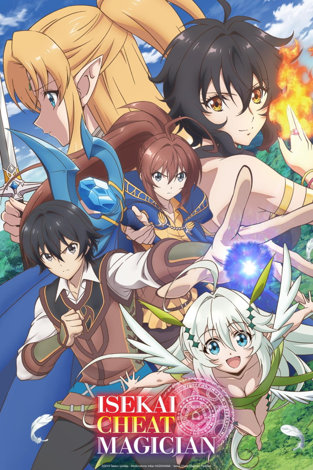 Isekai Cheat Magician anime series cover art