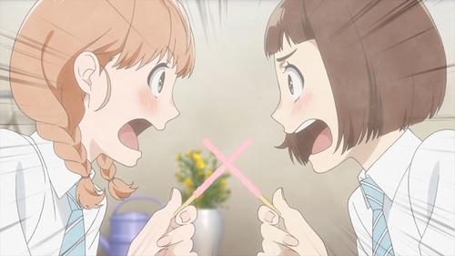 Kazusa Onodera and Momoko Sudou from the anime series O Maidens in Your Savage Season