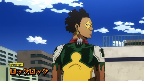 Pro Hero - Rock Lock from the anime series My Hero Academia season 4