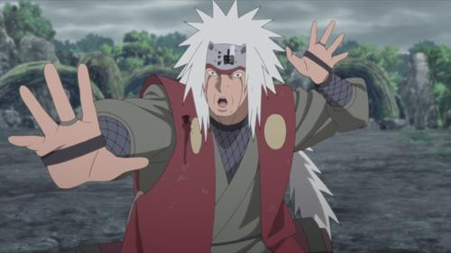 The White-Maned Toad Charmer, Jiraiya from the anime series Boruto: Naruto Next Generations