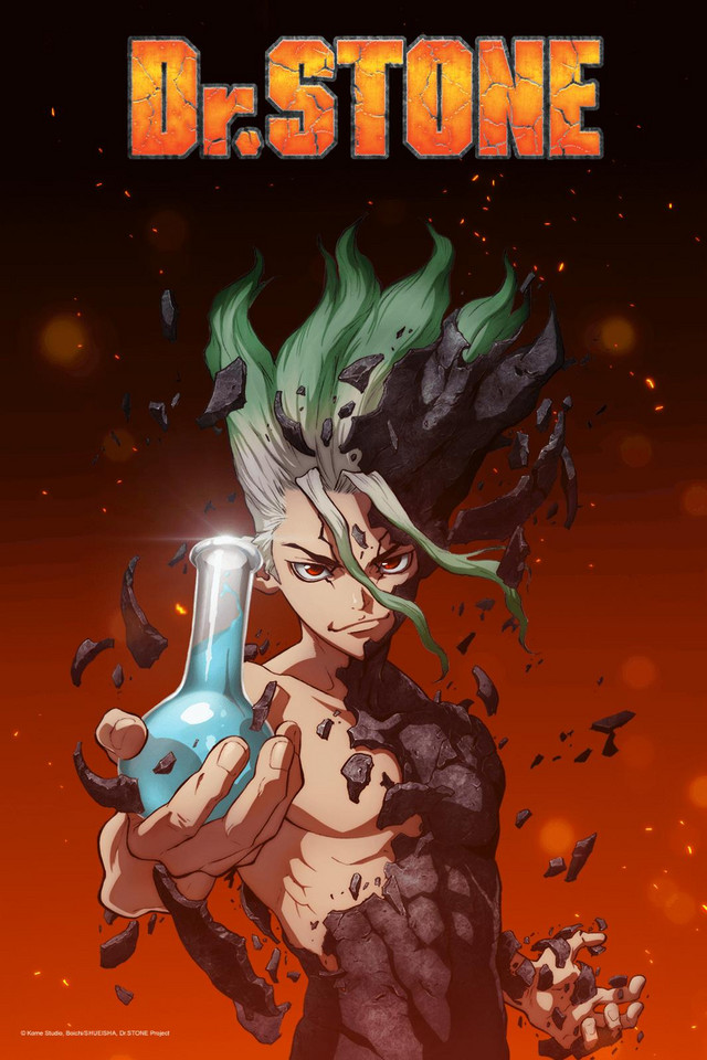 Dr. Stone anime series cover art