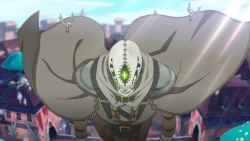 Golem searching for Somali from the anime series Somali and the Forest Spirit