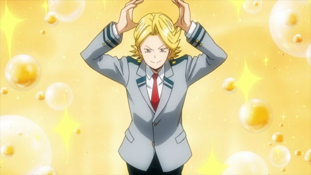 Yuuga Aoyama from the anime series My Hero Academia season 4