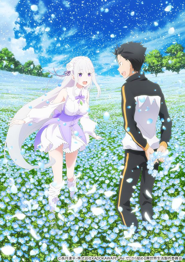 Re:ZERO - Memory Snow anime OVA cover art