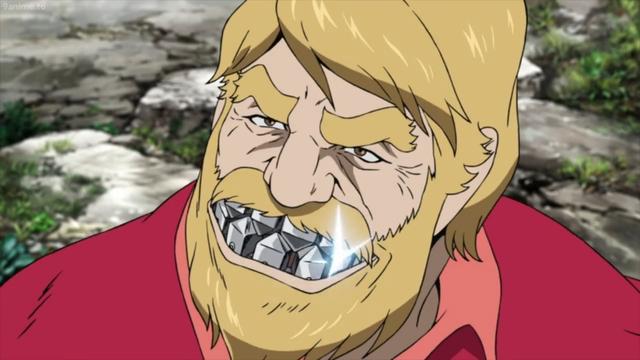 Hawk (the Bermuda Ghost) from the anime movie Lupin the IIIrd: Goemon's Blood Spray