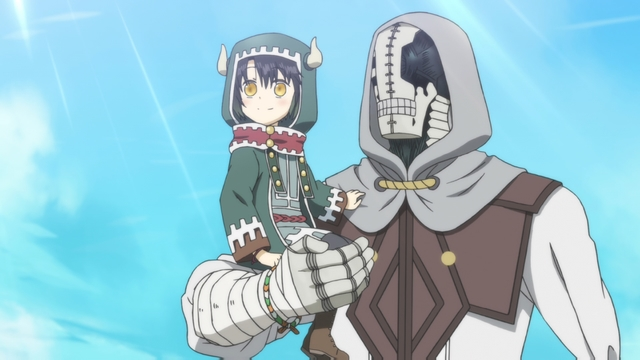 Somali and Golem wearing new outfits from the anime series Somali and the Forest Spirit