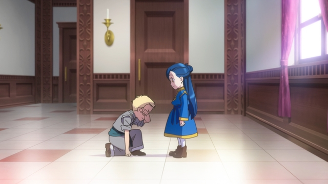 Myne and Gil from the anime series Ascendance of a Bookworm season 2