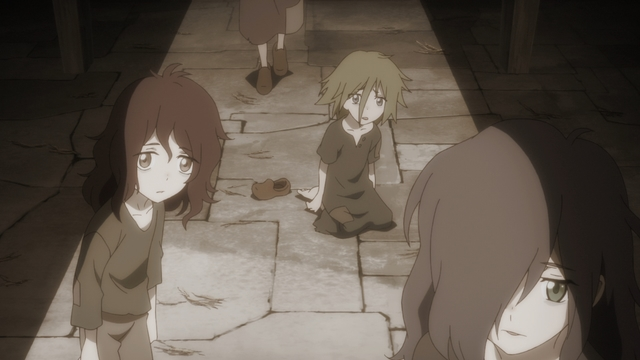The orphanage from the anime series Ascendance of a Bookworm season 2