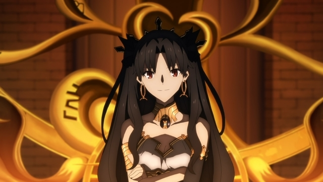 Ishtar from the anime series Fate/Grand Order: Absolute Demonic Front - Babylonia