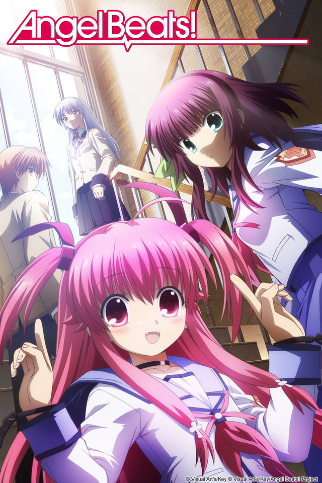 Angel Beats! anime series cover art