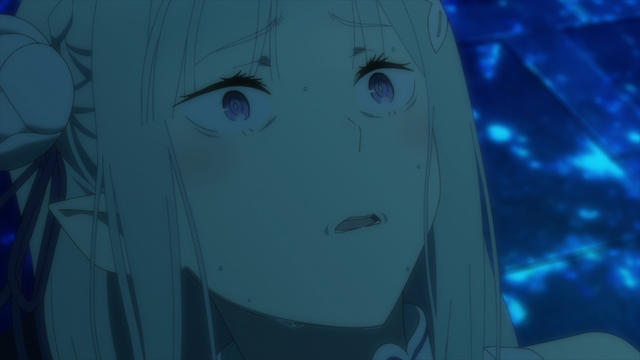 Emilia after the trial from the anime series Re:ZERO Episode 30