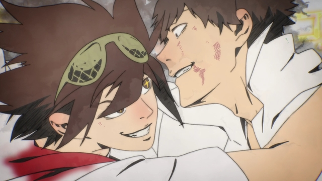 Jin vs. Daewi from the anime series The God of High School