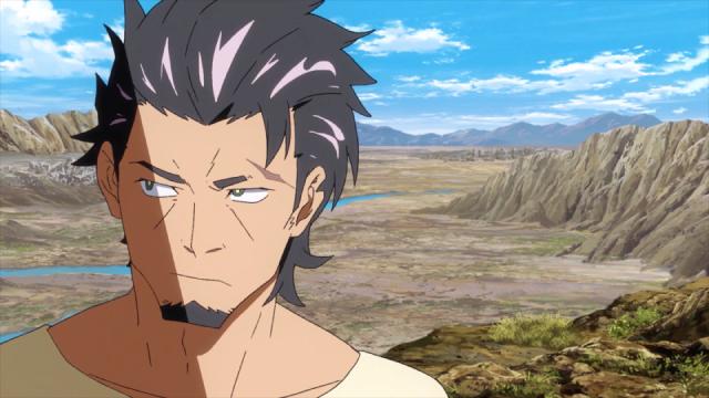 Kaburagi from the anime series Deca-Dence