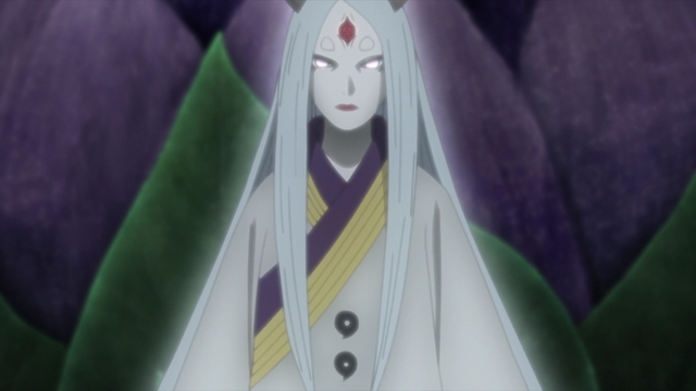 Kaguya Ōtsutsuki from the anime series Boruto: Naruto Next Generations