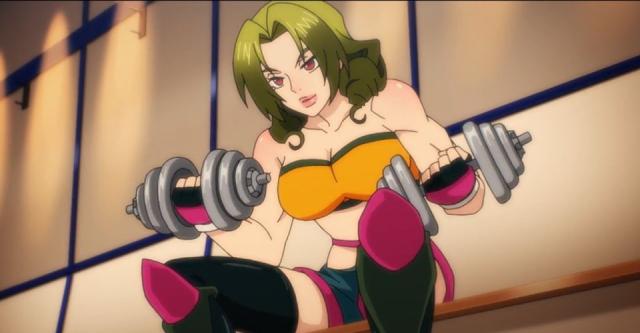 Misun Ma from the anime series The God of High School