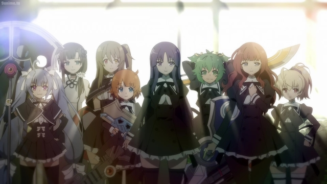 The Hitotsuyanagi Legion from the anime series Assault Lily: Bouquet