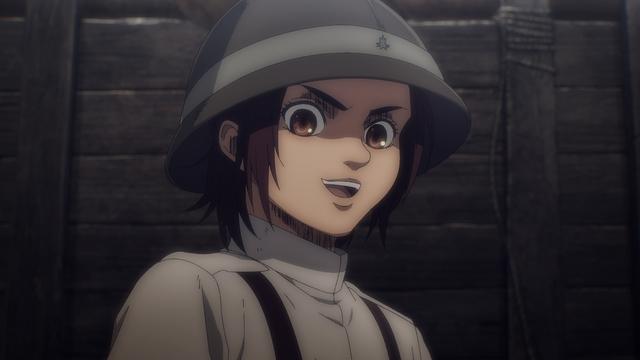 Gabi from the anime series Attack on Titan: The Final Season