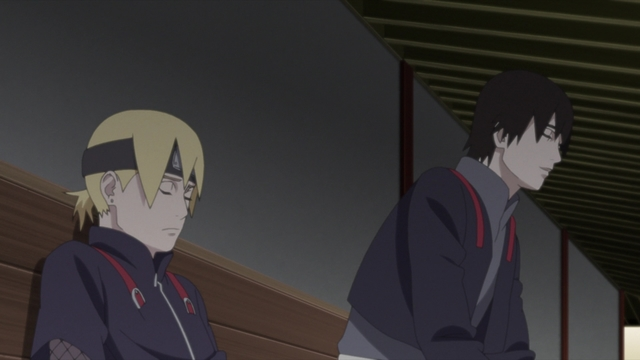 Sai and Inojin from the anime series Boruto: Naruto Next Generations