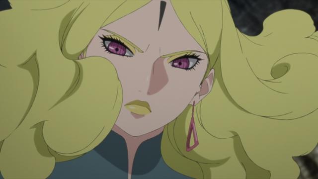 Delta of Kara from the anime series Boruto: Naruto Next Generations