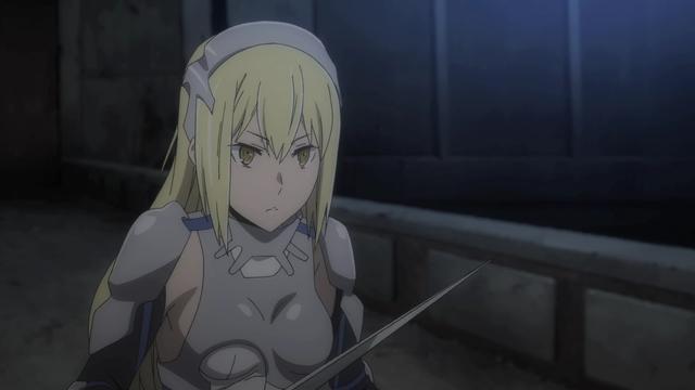 Ais Wallenstein from the anime series DanMachi III