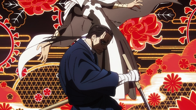 Lieutenant Konro defeating a White Clad member from the anime series Fire Force Season 2