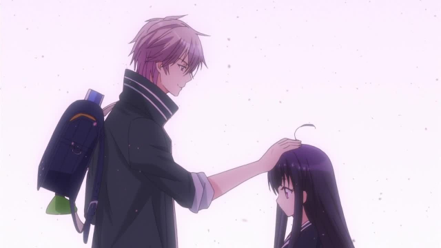 Kanade and Kaho from the anime series First Love Monster