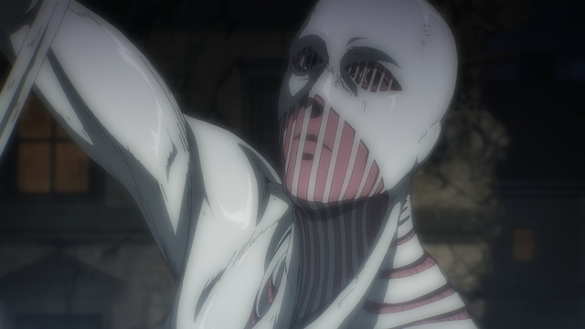 The War Hammer Titan from the anime series Attack on Titan: The Final Season