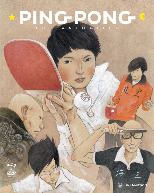 Ping Pong the Animation anime series cover art
