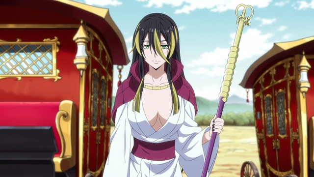 The Golden Serpent Albis from the anime series That Time I Got Reincarnated as a Slime Season 2