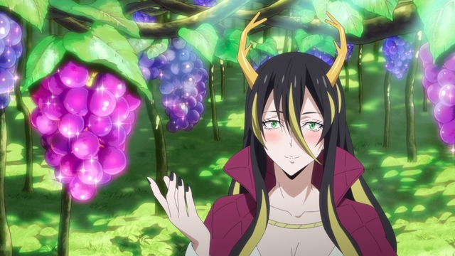 Albis talking about fruit from the anime series That Time I Got Reincarnated as a Slime Season 2