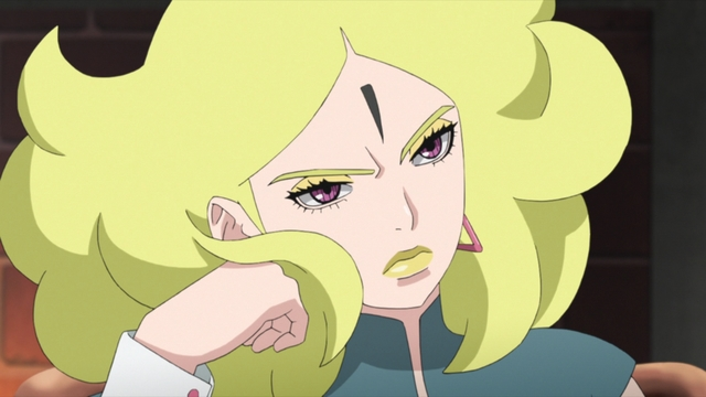 Delta from the anime series Boruto: Naruto Next Generations
