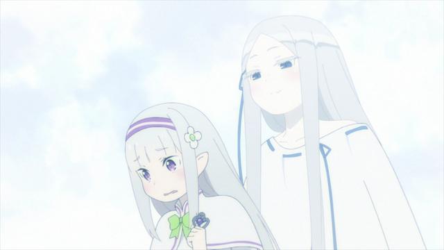 Emilia and Pandora from the anime series Re:ZERO Season 2