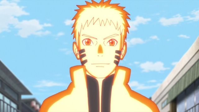 Naruto Uzumaki from the anime series Boruto: Naruto Next Generations