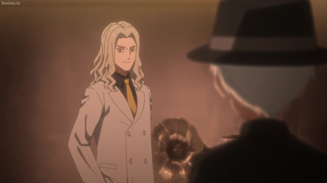 Norman meeting Peter Ratri from the anime series The Promised Neverland 2nd Season