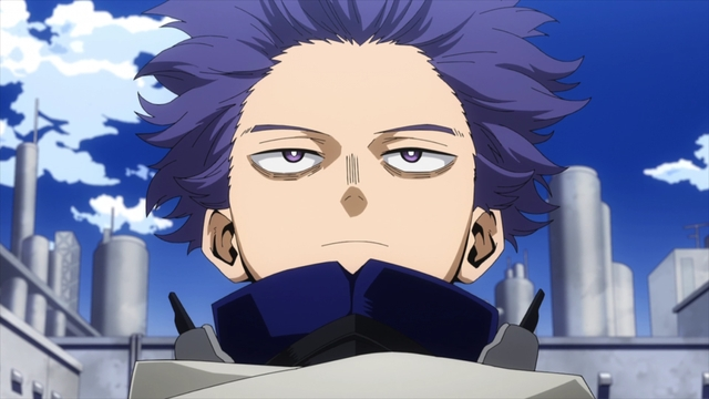 Hitoshi Shinso from the anime series My Hero Academia Season 5