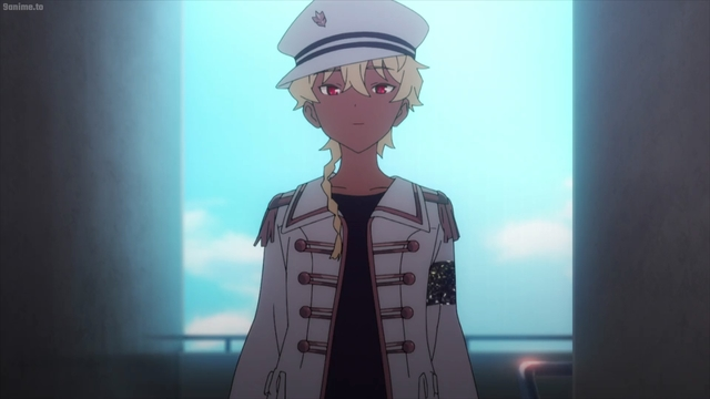 Shizumu from the anime series SSSS.Dynazenon