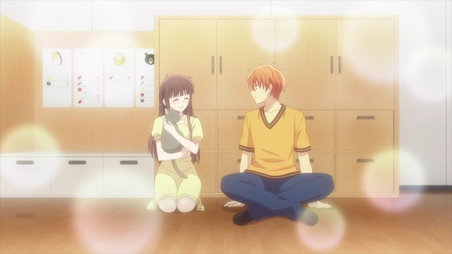 Tohru and Kyou from the anime series Fruits Basket The Final Season